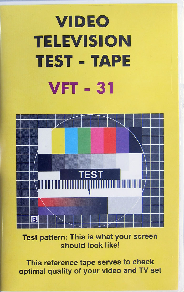 Burosch Video Televison Test Tape
