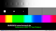 Reference HDR TV Test Pattern Miniatur