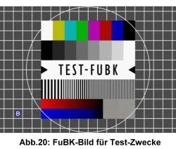 FuBK-Testbild