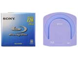 Blu-ray Discs mit Cartridge