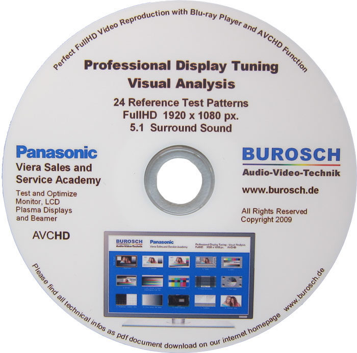 Burosch Panasonic Viera Sales and Service Academy Blu-ray