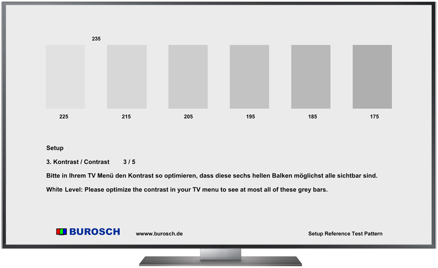Burosch Basic Kontrast Testbild