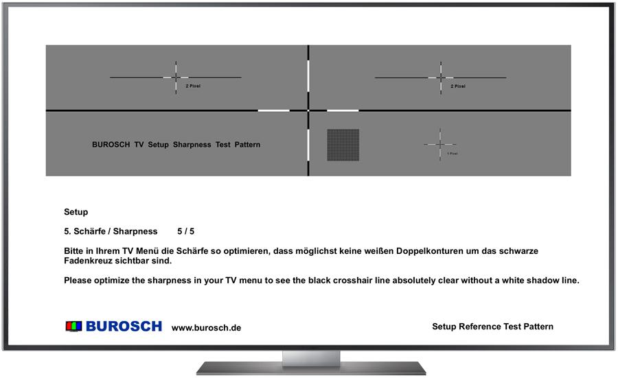 Burosch Basic Schärfe Testbild