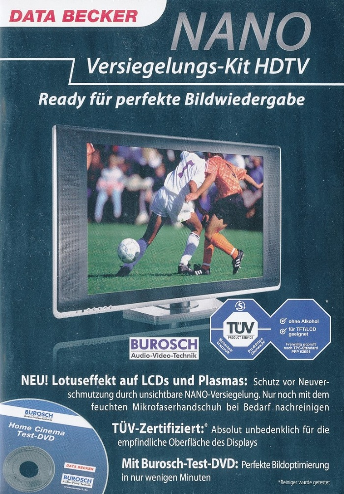 Data Becker NANO Versiegelungs-Kit HDTV