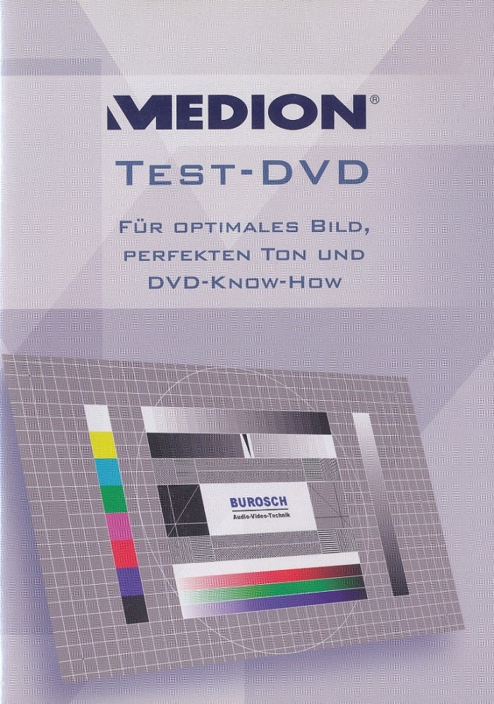 Medion Test DVD