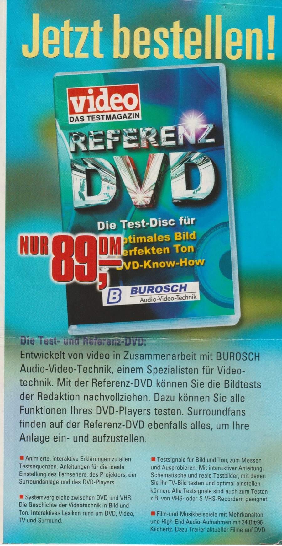 Video Referenz DVD