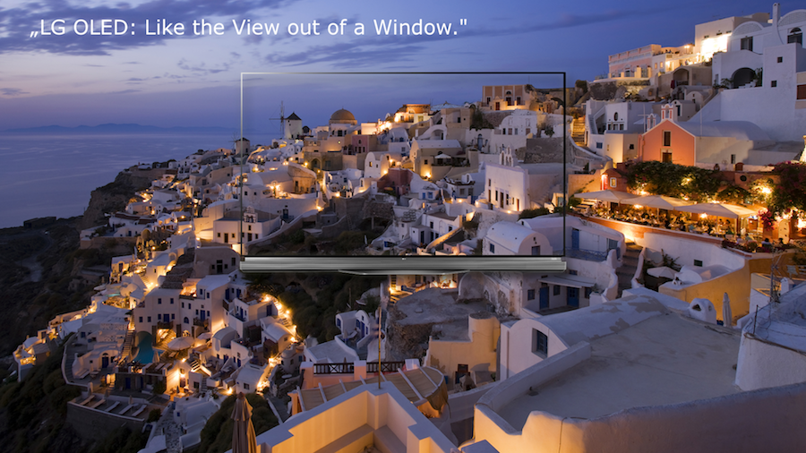 Burosch Window View Santorin