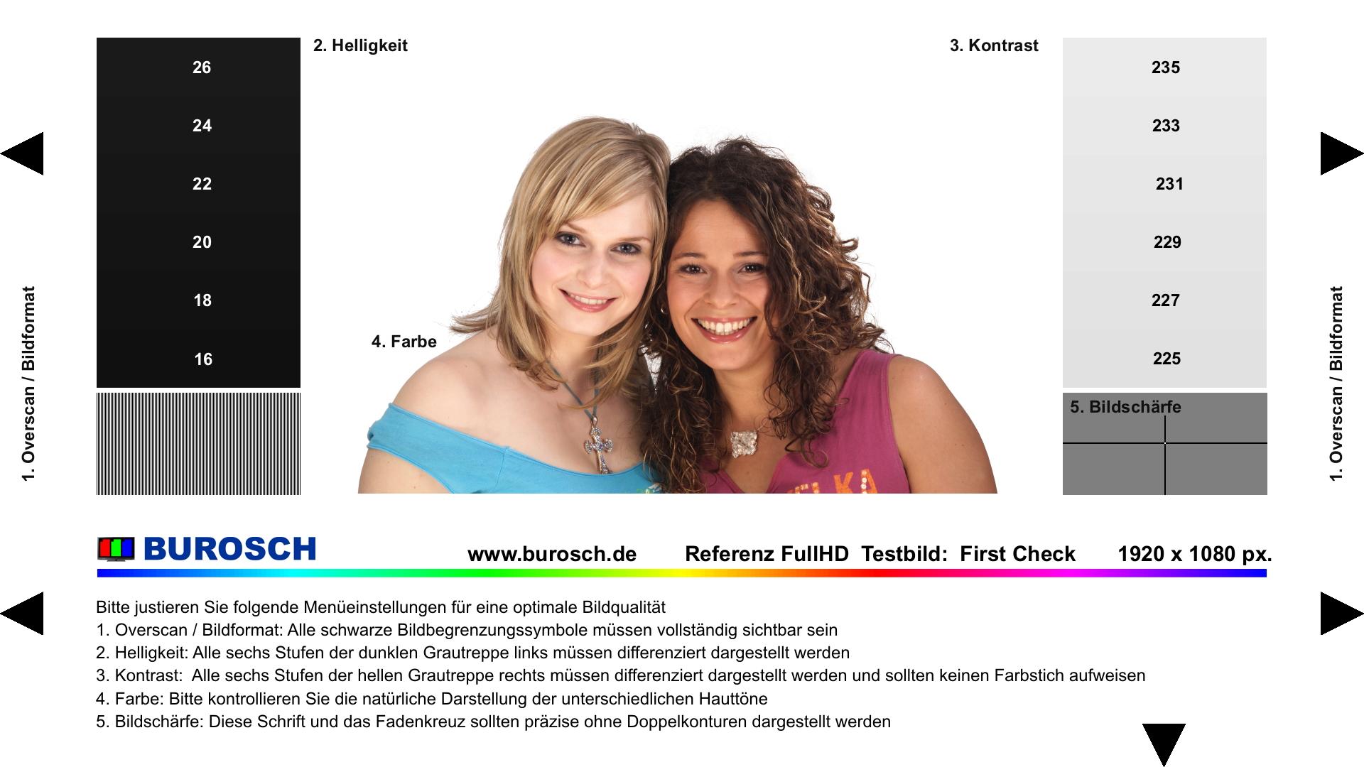 Free Download Burosch First Check Tv Testbild