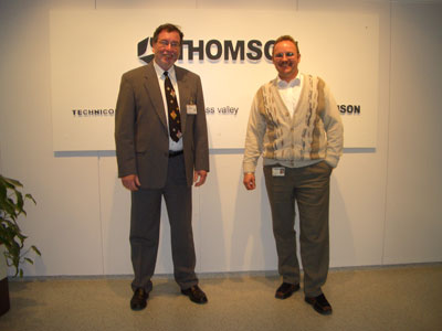 Rainer Zwing - Thomson Labormanager, Klaus Burosch