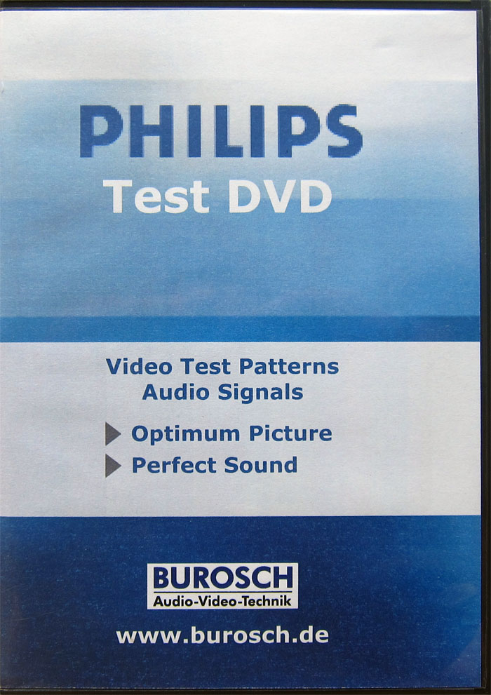 Burosch Philips Test DVD