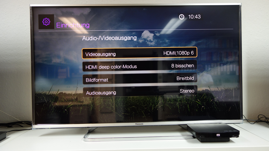 Burosch WD TV HD Streaming Media Player Screenshot