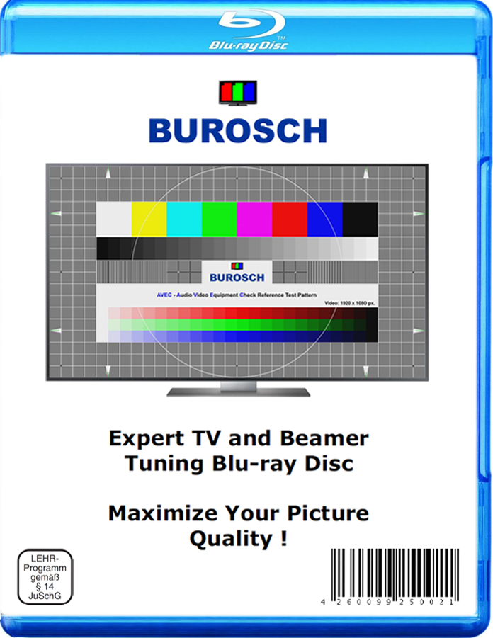 Burosch TV Expert Tuning Disk Cover